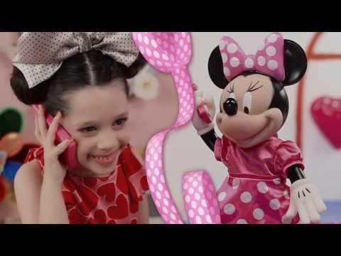 Boneca Interativa Minnie Yellow na Kids e Cia