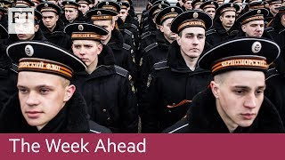 Gambar cover Russia's war games, Apple launches new iPhone