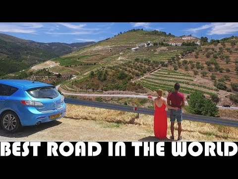 DRIVING THE BEST ROAD IN THE WORLD - PORTUGAL N222 - EN322
