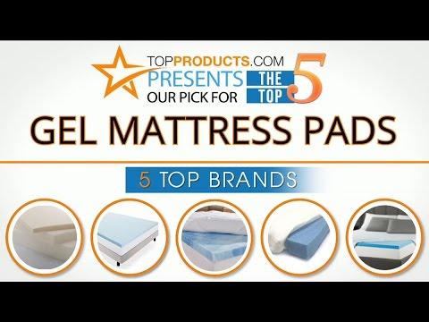 Best Gel Mattress Pad Reviews 2017 – How to Choose the Best Gel Mattress Pad