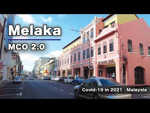 Melaka - MCO 2.0 (What Happen to Malaysia's Famous Tourist City Now?)