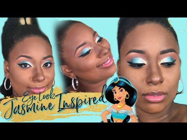 Disney Princess Jasmine Inspired Makeup Look Too Faced ABH Fenty Beauty || Vicariously Me