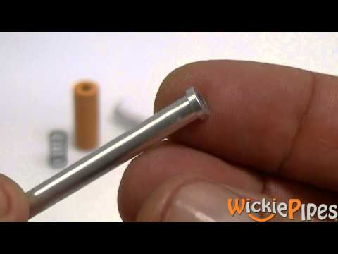 Better Bat Eject - Cigarette Style One-Hitter Pipe - WickiePipes
