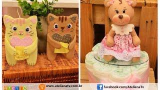 Aulas de biscuit e feltragem com Kakal Artes e Ediana Nascimento