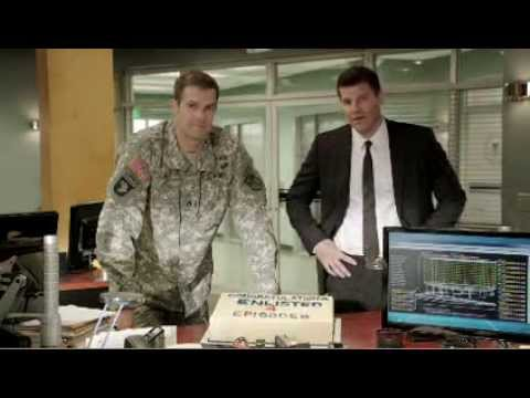 David Boreanaz, Geoff Stults and Parker Young for Bones and Enlisted