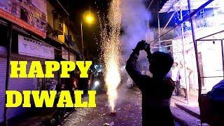 Explosive Night Celebrating Diwali in Mumbai