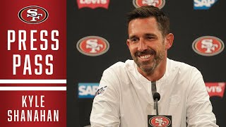 Next Stop Tampa Bay. Final Week 1 Updates from Kyle Shanahan