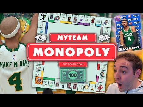 NBA 2K19 My Team MONOPOLY EPISODE 1! SQUAD BUILDER THAT HAS EVERYTHING!!!