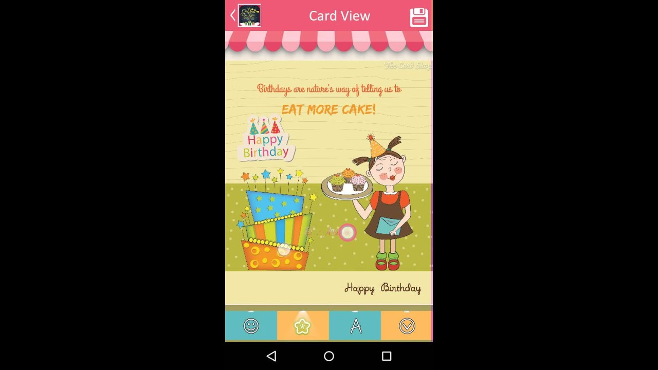 Funny Birthday Cards For Girls Youtube