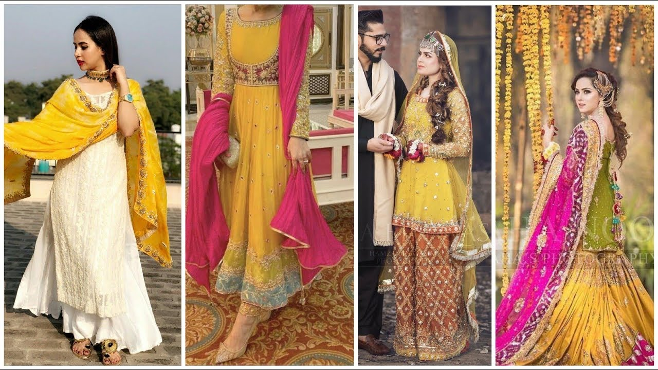 mehndi dress design collection