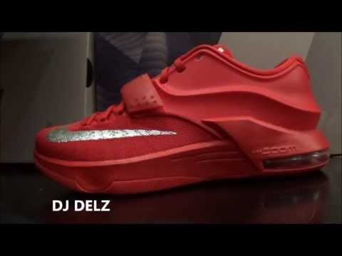meet d69c2 19275 ... sale nike kd 7 global game red sneaker hd review with dj delz ac9e4  511e7