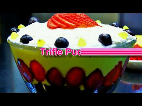 How to make Trifle Pudding Cake | Leftover Cake and Pudding Recipe |  Food Recipes | Ep - 623