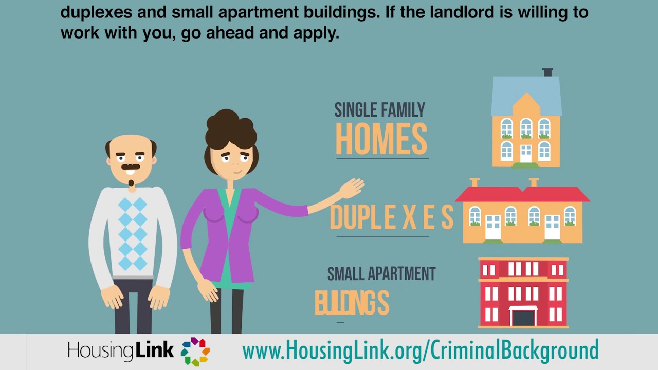 HousingLink - Communicating Your Criminal Background to a Landlord