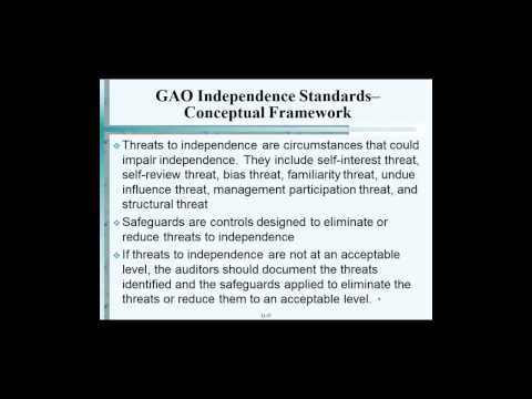 GAO Independence Standards