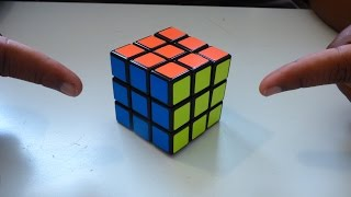 how to solve a rubiks cube in 2 easy moves