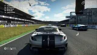 GRID Autosport PC - Mercedes SLS AMG Black Series Gameplay