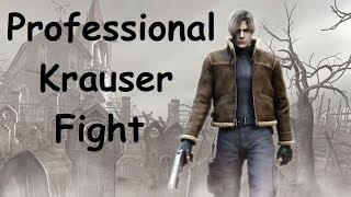 Resident Evil 4 Professional Playthrough Part 5 (Krauser Boss Fight)