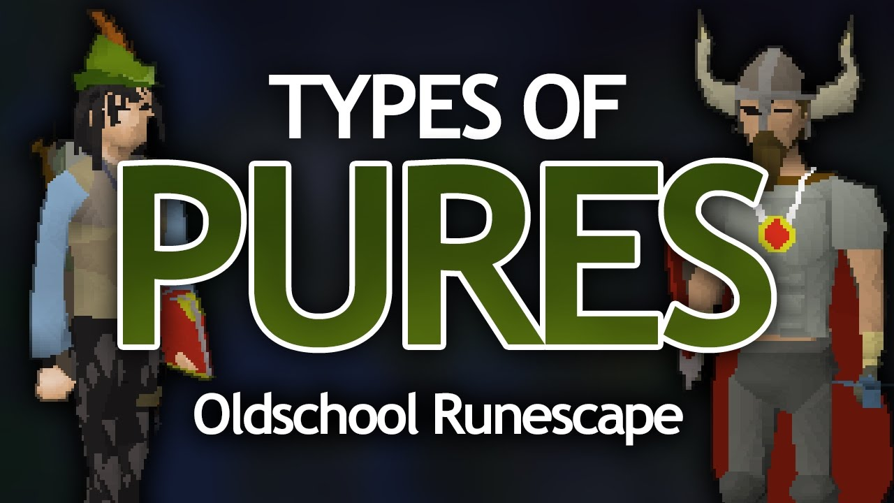 Types of Pures in OSRS
