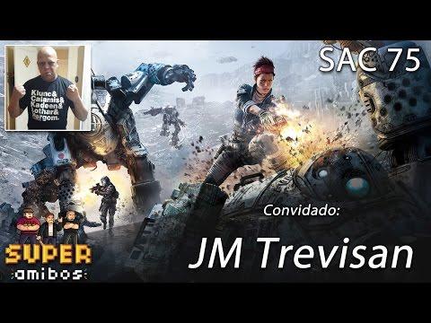 SAC 75 (convidado: J.M. Trevisan) | Super Amibos