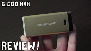 Review: RAVPower Luster 6000mAh Battery
