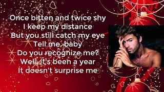 George Michael - Last Christmas | Lyrics video