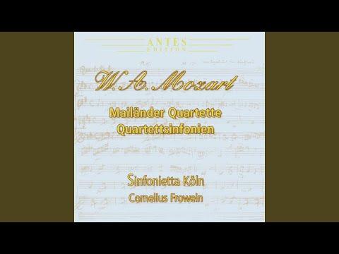 Quartetto B-Dur KV 159 III Allegro grazioso