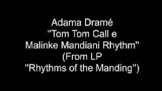Adama Dramé - djembe solo + Mendiani ( from rare lp