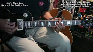 🎸 The Basic Difference Between A Pop Rock And A Jazz Guitar Solo