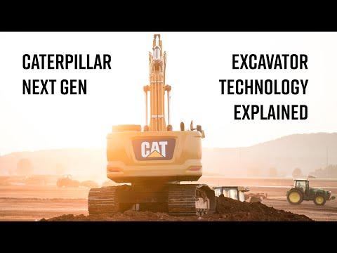 Caterpillar Next Gen Excavator Technology Explained