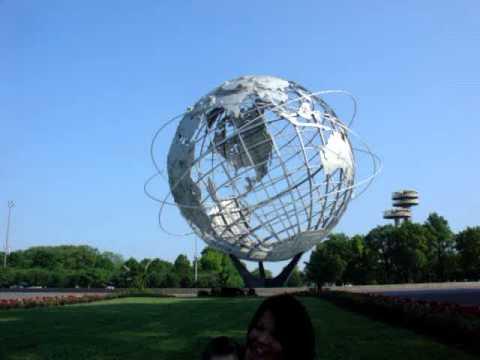 龍仔逛紐約公園 Corona Park