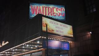 Joey McIntyre (NKOTB) Takes His First Bow In Waitress and Greets Fans After The Show