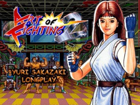 Art Of Fighting 2 Ps2 Arcade Mode Yuri Youtube
