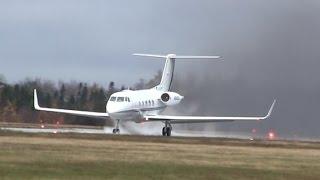 Gulfstream II - Loud Takeoff