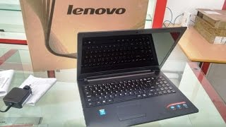Unboxing Lenovo Ideapad 100 Laptop (i3/4GB/500GB)