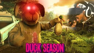 THE MOST DISTURBING GAME OF THE YEAR..   Duck Season (Canon ENDING)