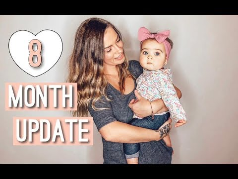 8 MONTH UPDATE | MOMMY & BABY POSTPARTUM