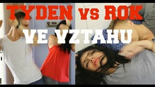 TÝDEN vs ROK vztahu / SKETCH/ ft. Dominik Port
