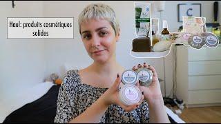 Gambar cover Les produits cosmétiques solides et naturels que j'utilise ❘ Haul