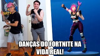 FORTNITE DANCES IN REAL LIFE 🎵-Mike-