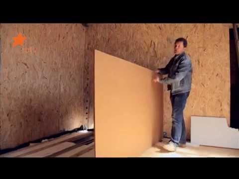 Древесноволокнистые плиты для утепления стен: технология ремонта
