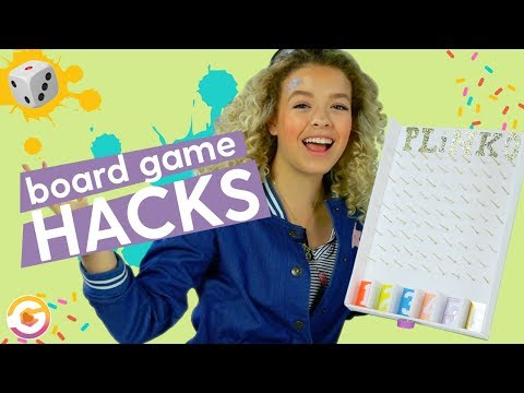 DIY Board Game Hacks | Unicorn Foosball, DIY Plinko, Pacman | GoldieBlox
