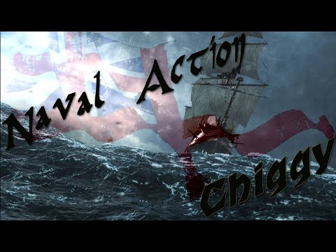 Naval Action # 41 Fleet Battle Brits vs Prussians - Hispaniola Patrol