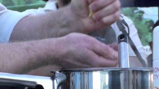 Marlborough Farmers' Market - Matt Allan - Leek & Bacon Risotto
