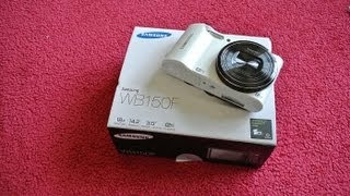 samsung WB150F Unboxing
