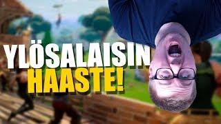 YLÖSALAISIN HAASTE | Fortnite Suomi