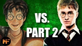 Top 10 Difference Between the Harry Potter Books & Movies Part 2