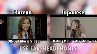 Video TWICE - 'Like OOH AHH' SONG COMPARISON (Korean and Japanese) download MP3, 3GP, MP4, WEBM, AVI, FLV April 2018