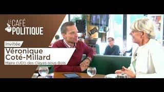 Le Café Politique n°16 – Véronique Coté-Millard, Maire (UDI) des Clayes-sous-Bois