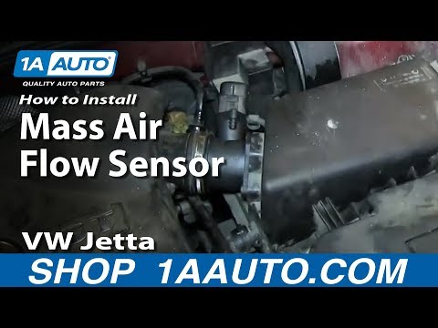 How to Replace Mass Air Flow Sensor with Housing 01-05 Volkswagen Jetta