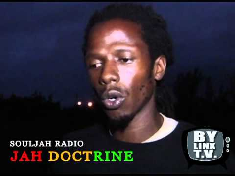Jah Linx meets Jah Doctrine in Nassau Bahamas Live on SoulJah Radio - BYLINXTV